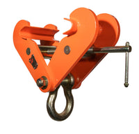 TIGER FIXED JAW BEAM CLAMP WITH SHACKLE BCF
