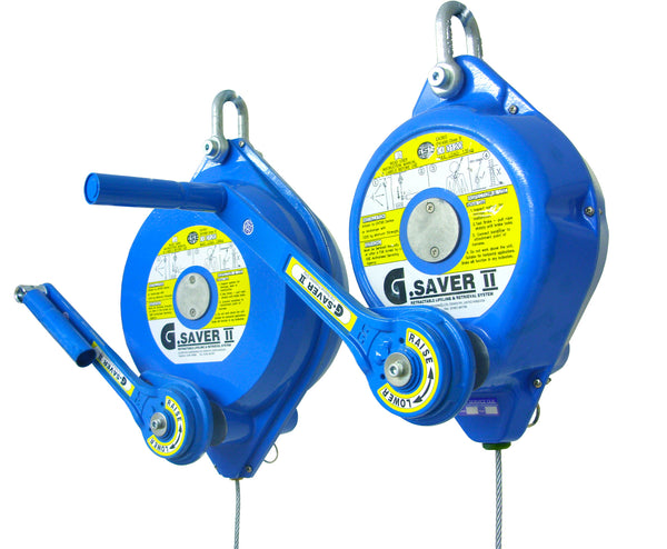 Globestock G-Saver II™ Recovery Inertia Wheel with Galvanised Cable (Ref 253-3)