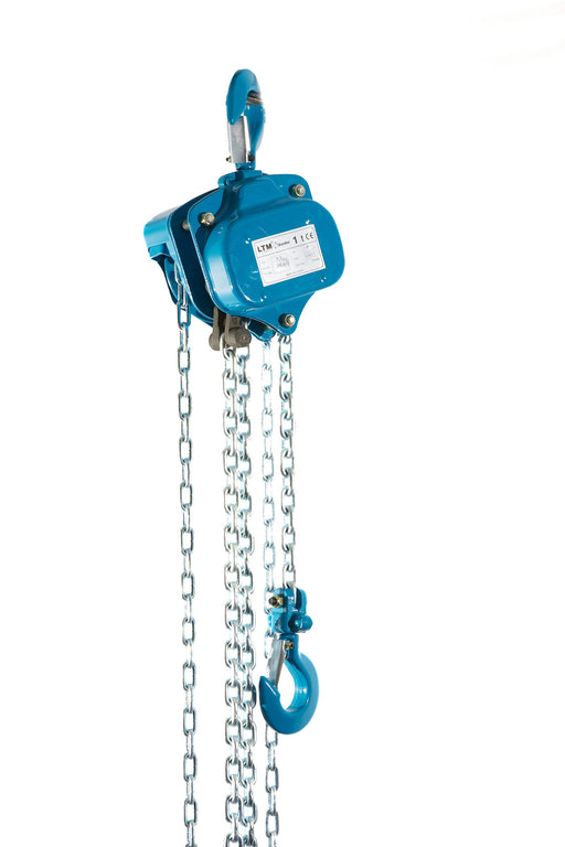 Pfaff Silverline 1.0t SWL Hand Chain Block coming with 3 metre height of lift