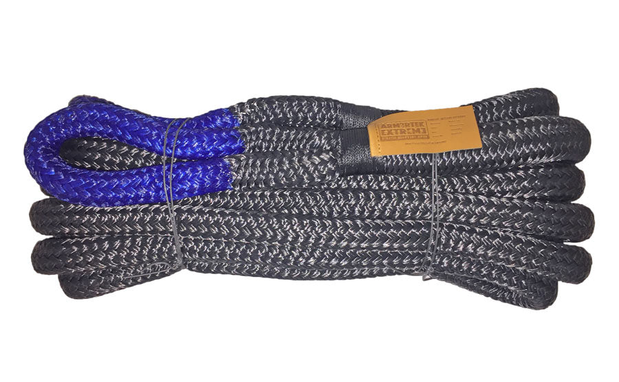 Armortek Extreme Nylon Kinetic Rope, Blue Core 24mm x 6m
