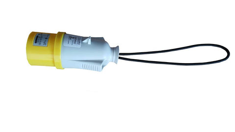 Guardian Pocket Pickle for Low Voltage Chain Hoists, for use with 4 Pin 16A (Yellow) CEE Forms.