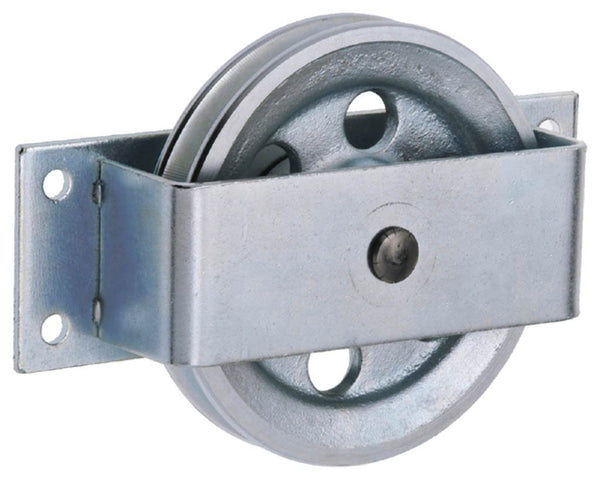 WEBI Pulley Type ETT-170 - Galvanised Cast Iron Side Mounted Pulley (ETTER)
