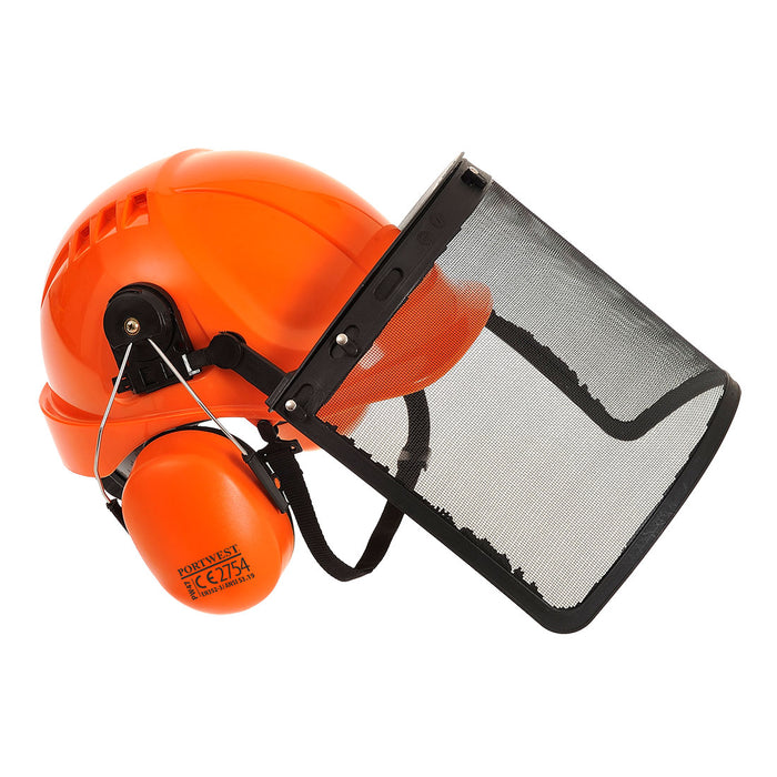 Portwest PW98 Forestry Chainsaw Helmet Combi Kit