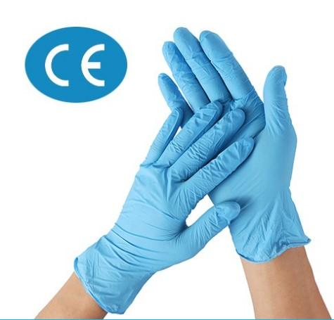 100 x CE marked Nitrile Gloves