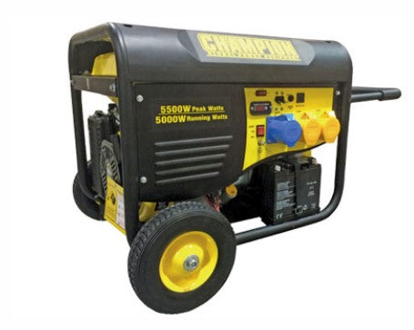 Champion 5500 Watt Petrol Generator With Remote Start Ref: 118-2-3