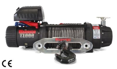 T-1000 Severe Duty Military Winch - 14,500 lb 12V & 24V - complete with Armortek Extreme
