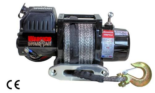 Spartan 6000 Electric Winch C/W Synthetic Rope