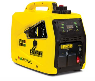 Champion 2000 Watt Inverter Dual Fuel Generator Ref: 118-3-1
