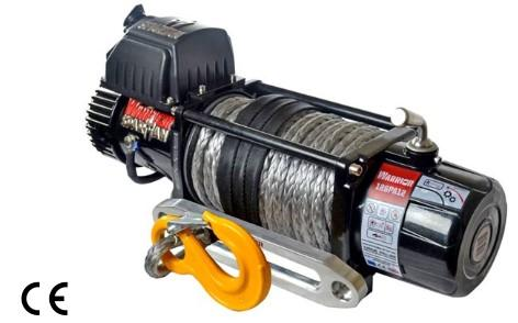 Spartan 12000 Electric Winch C/W Synthetic