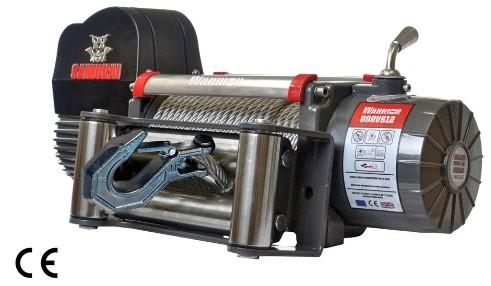 Samurai 8000 Electric Winch C/W Steel Cable