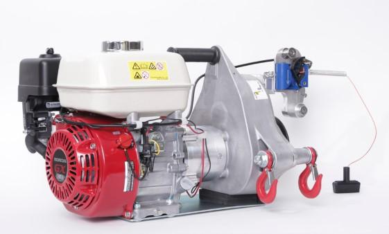 Portable Winch Petrol | Pulling 1050kg & Lifting 450kg Capstan Winches