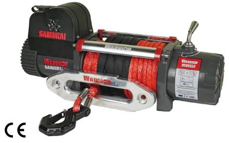 Samurai 9500 Electric Winch C/W Synthetic