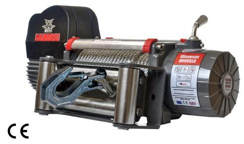Samurai 9500 High Speed Winch C/W Steel Cable