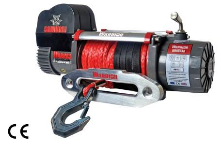 Samurai 9500 High Speed Winch C/W Synthetic
