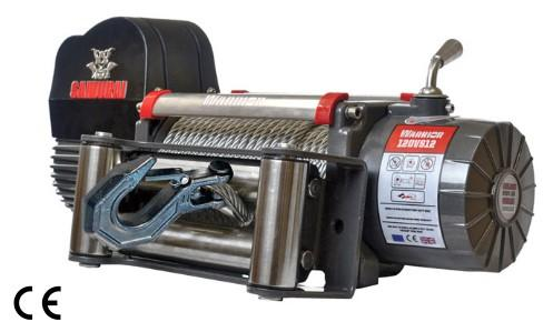 Samurai 12000 Electric Winch C/W Steel Cable