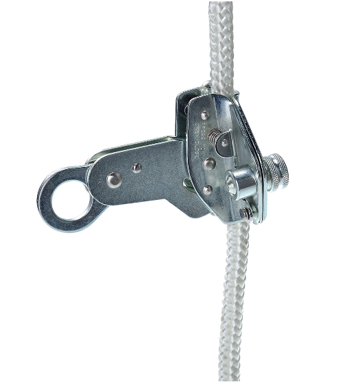 12mm Detachable Rope Grab Silver