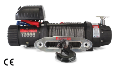 T-1000 Severe Duty Military Winch - 10,000 lb 12V- complete with Armortek Extreme