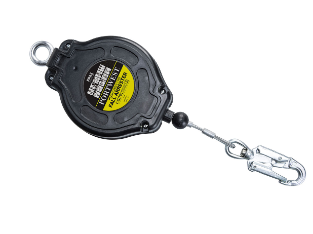 6M Retractable Fall Arrest Block Black