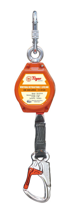TIGER FALL ARREST BLOCKS - WEBBING - TIB-W Ref: 224-1