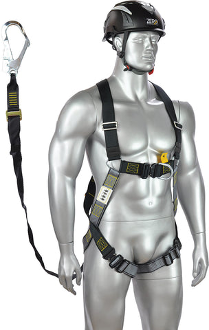 Zero - Tradesmate Set - Harness/adjustable lanyard set with scaffold hook - Z-35/ABM-TX5