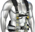 Zero Plus - Elite - Construction (Rope Access) Harness - Z+81 front close up