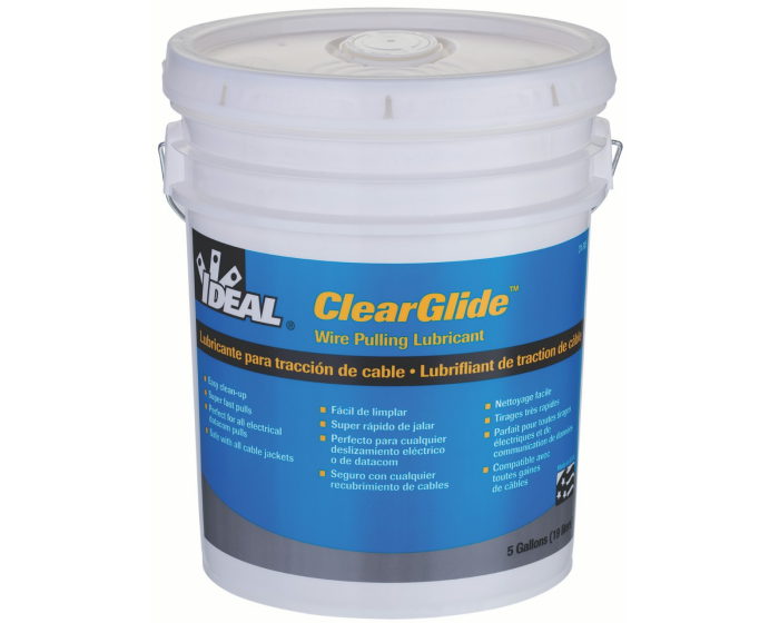 Ideal | Wire Pulling Lubricant | ClearGlide Ref: 116-4