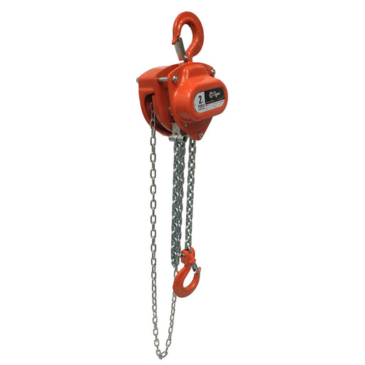 TIGER CHAIN BLOCK  PROCB14, 2.0t CAPACITY Ref: 211-4 available from RiggingUK on a next day delivery