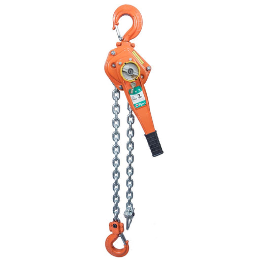 TIGER PROFESSIONAL LEVER HOIST PROLH, 3.0t CAPACITY with LOAD LIMITER - Ref: 210-29