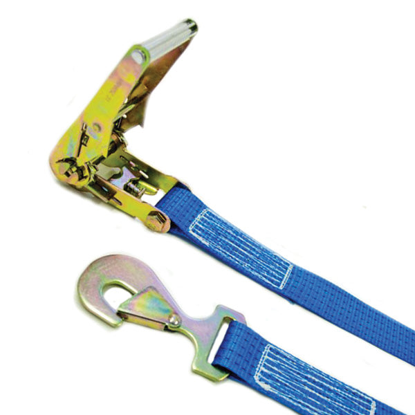 50mm wide 2 Part Ratchet Strap systems – TWISTED SNAP HOOK