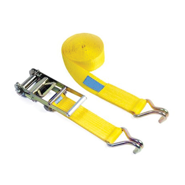 75mm wide 2 Part Ratchet Strap systems – CLAW HOOKS