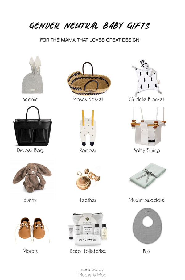 Neutral Baby Gifts for the Design Conscious Mama