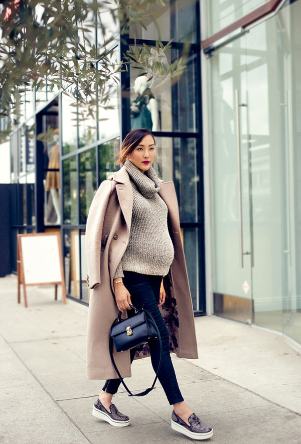 Dress the Bump: Our Favourite Maternity Looks this Winter