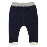 Navy Cuffed Leggings Organic Zoo Baby