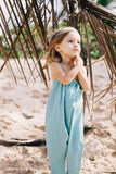 Toddler Playsuit - Deep Aqua
