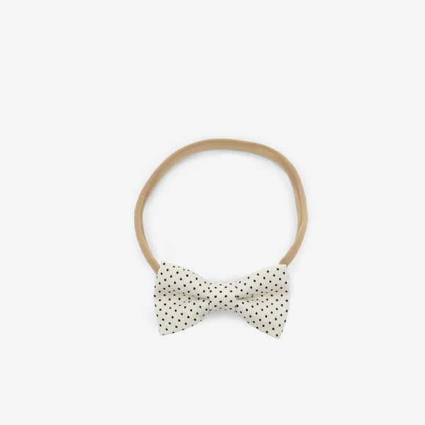 Classic Bow Headband - Little Dots