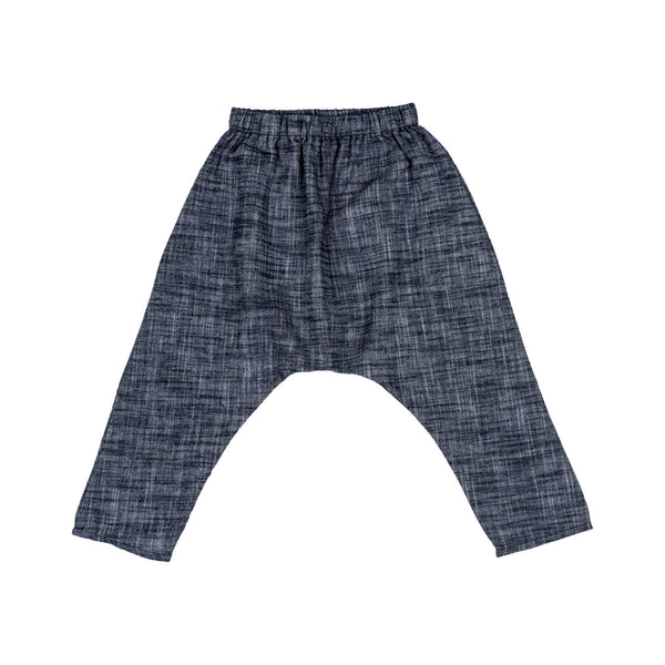 Devon Trousers – Indigo Chambray