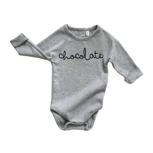 Grey Body Chocolate Bodysuit