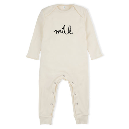 Natural Milk Romper