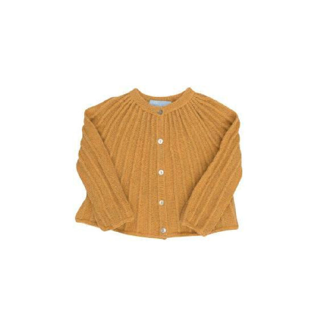 Inca Gold Semi Handknitted Cardigan