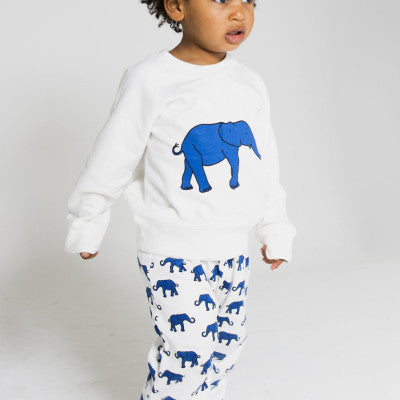 Organic Cotton Leggings - Elephant