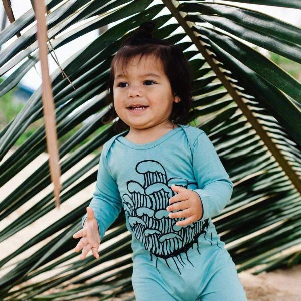 Baby Toddler Surf wear Wave Romper