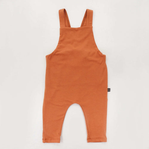 Bamboo Summer Overalls - Persimmon