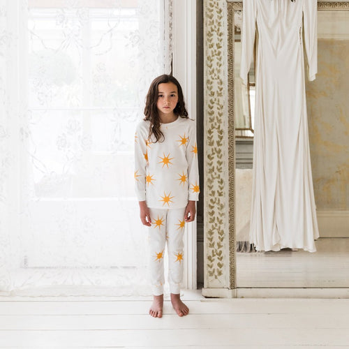 Sleepy Doe Organic Cotton Kids Pajama Set: Dawn