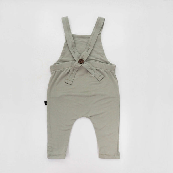 Bamboo Summer Overalls - Sage