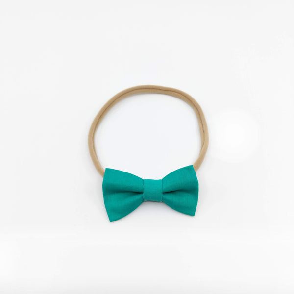 Soft Headband Emerald Jade Green