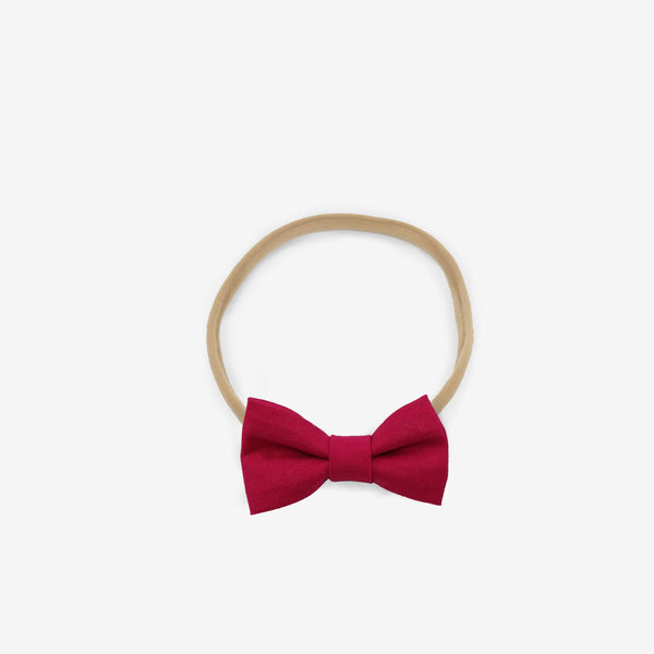 Soft Headband Ruby Red