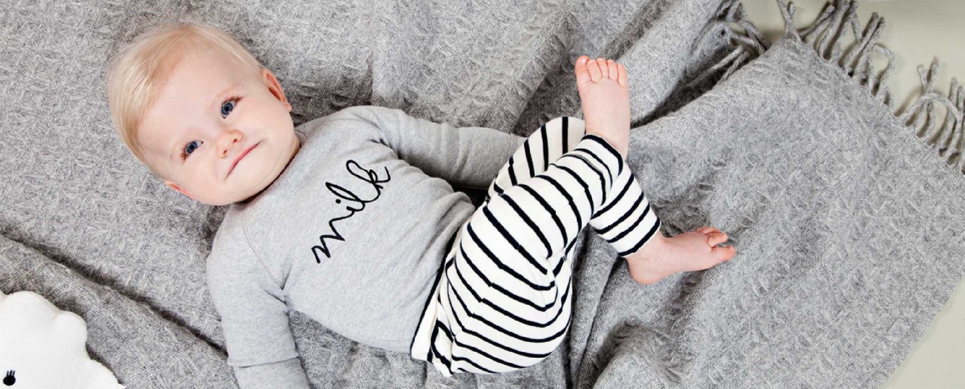 Organic baby and toddler clothes collection from Organic Zoo