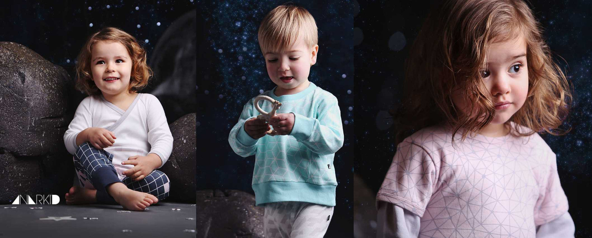 Organic baby and toddler collection from Anarkid
