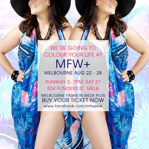 Come See Us at MFW+ Saturday 27th August at 7pm 524 Flinders St Melbourne