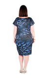 Dress Mid-Length - Blue Waratah